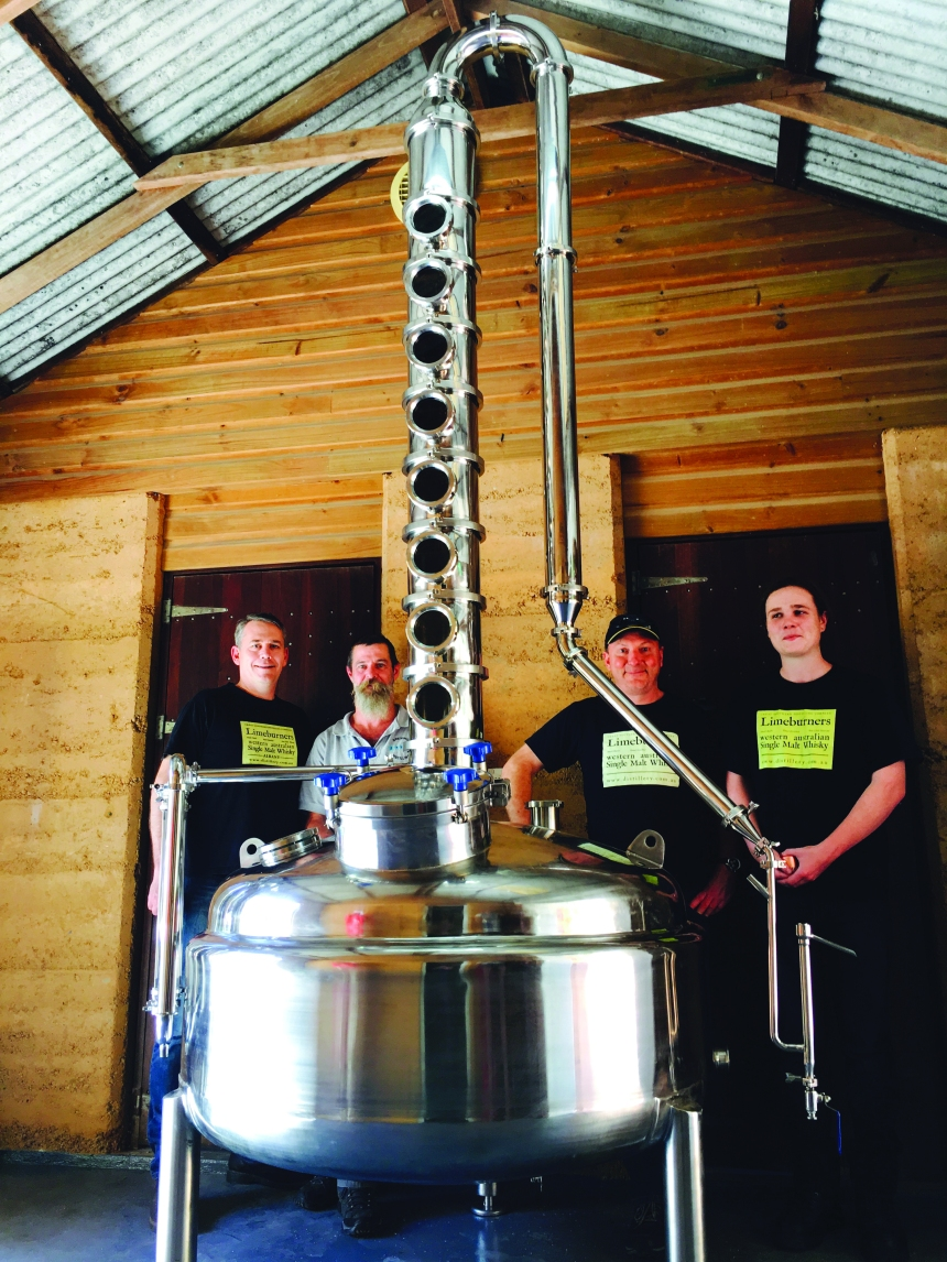 Distillers and New Still